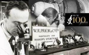 Prior Scientific Celebrating 100 years 1919-2019